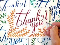 Thank You Card Product Image
