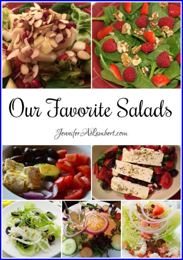 Our Favorite Salads by Jennifer Lambert