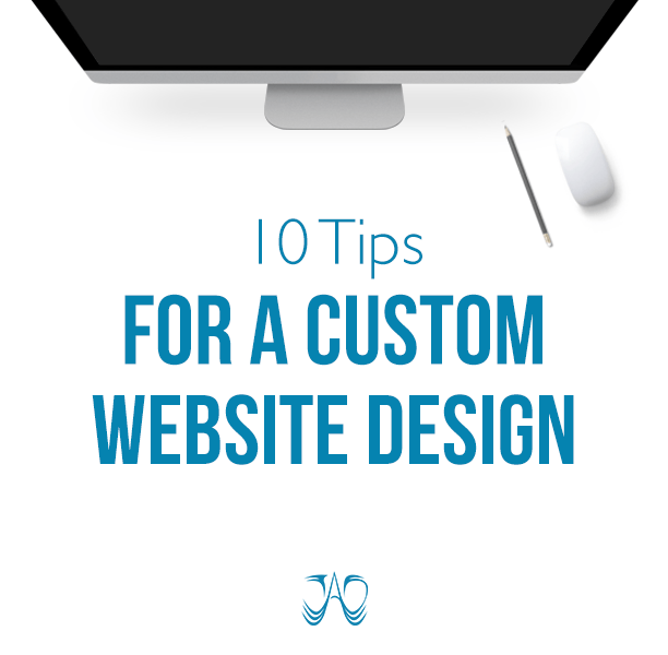 10 Tips for a Custom Website Design