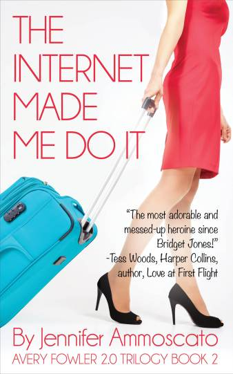 Romantic Comedy Author Jennifer Ammoscato. The Internet Made Me Do It. Published May 2017.