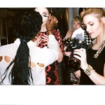 Behind The Scenes Photo shoot Polaroid