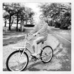 Graham on bike
