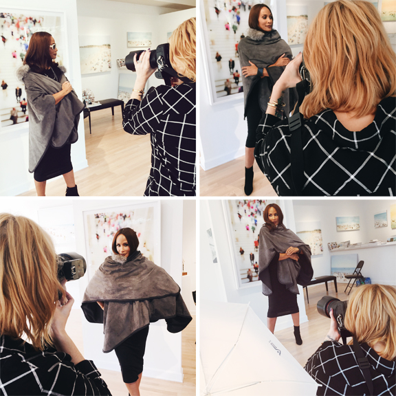 Chicago Fashion Photographer Jennifer Avello photographing super model, Beverly Johnson