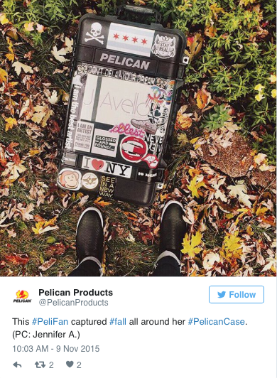 Pelican Products Twitter Tweet