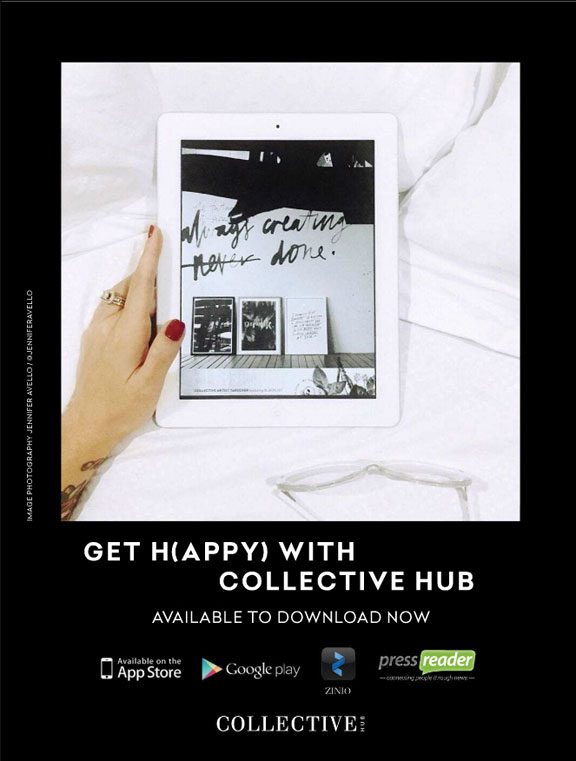 Collective hub app ad