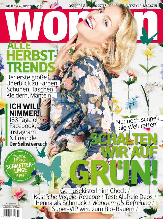 Woman Austria August 2015 Cover