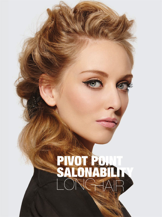 Pivot Point Salonability Long Hair Lookbook Cover