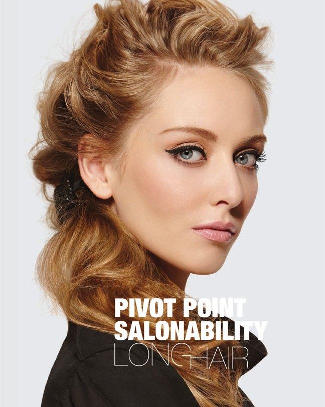 Pivot Point Salonability Long Hair Lookbook Cover