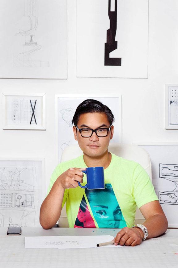 Portrait of Jimenez Lai