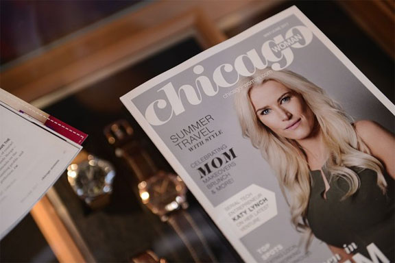 Katy Lynch, co-founder of codeverse for the May/June 2017 Issue of Chicago Magazine