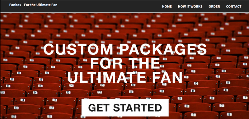 Fan box home page