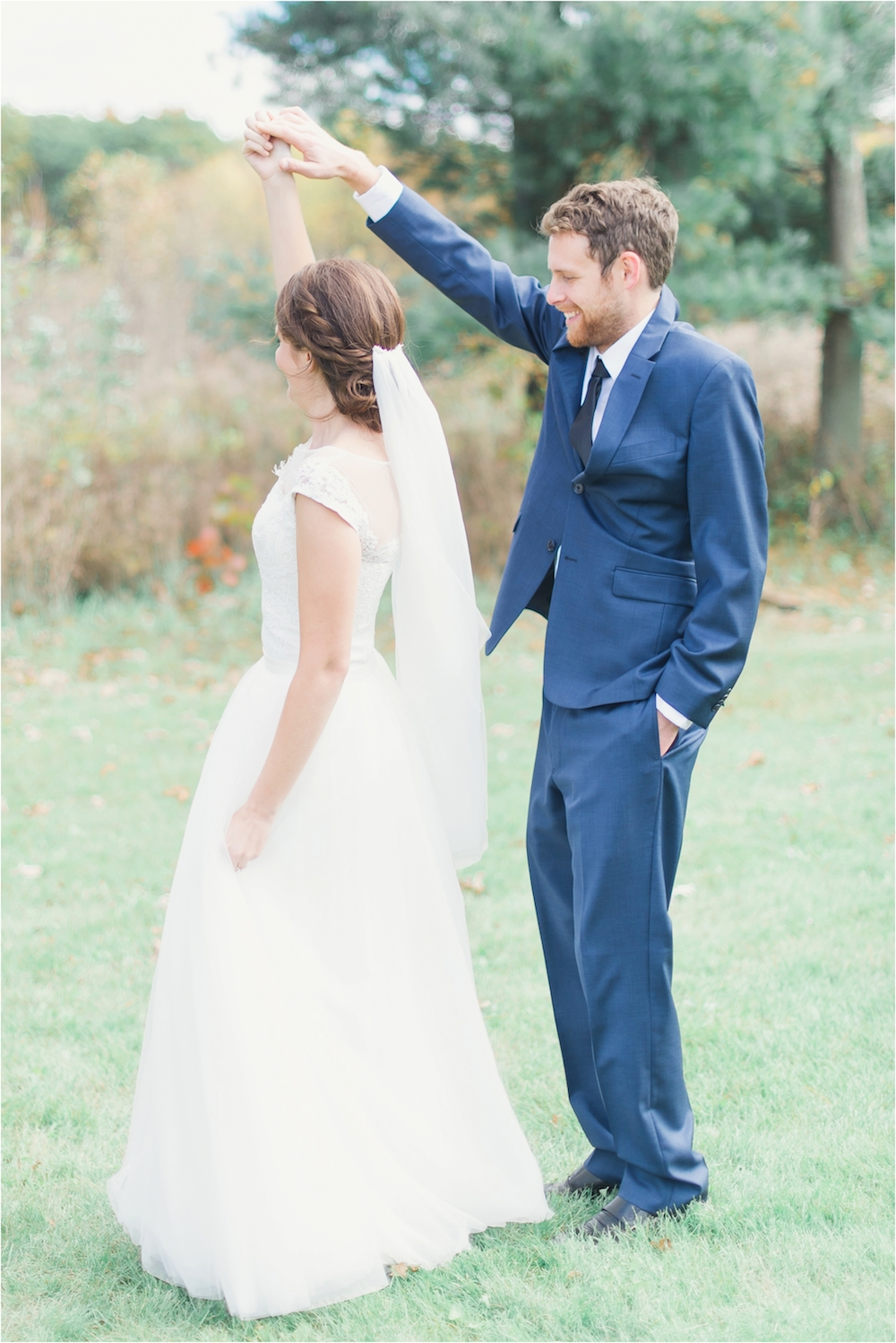 East lansing private estate wedding amy jesse jennifer boris east lansing michigan outdoor fall horse wedding photo ombrellifo Gallery