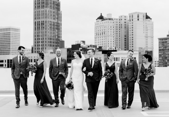 An Elegant City Wedding in the Heart of Detroit | Cristin & Jason