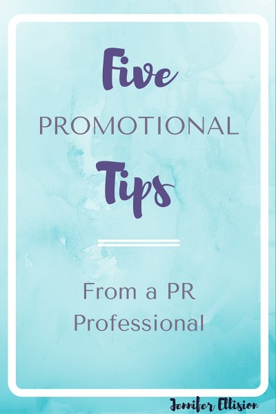 Five Promotional Tips