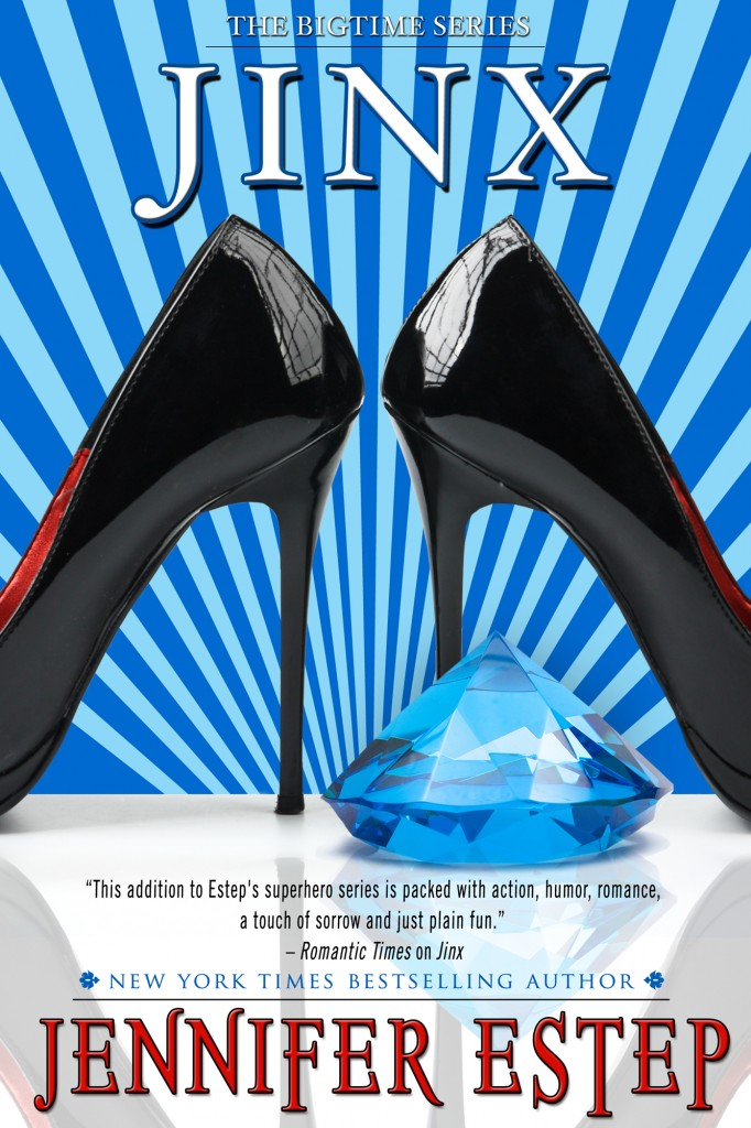 Jinx, the New Cover, from Jennifer Estep's website.