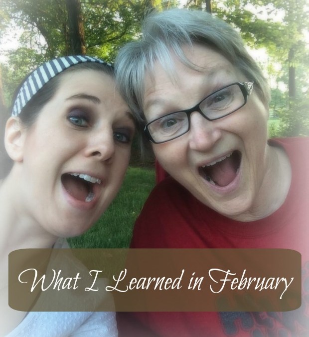 What I Learned in February