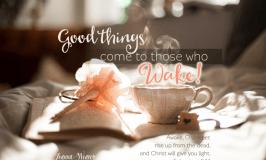 Lazarus…Wake up!