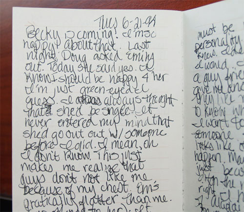 The Diary Project June 21 1994