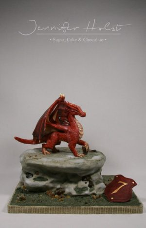 Roter Drache