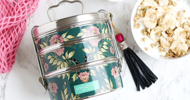 WIN: BOHO TIFFIN LUNCHBOX