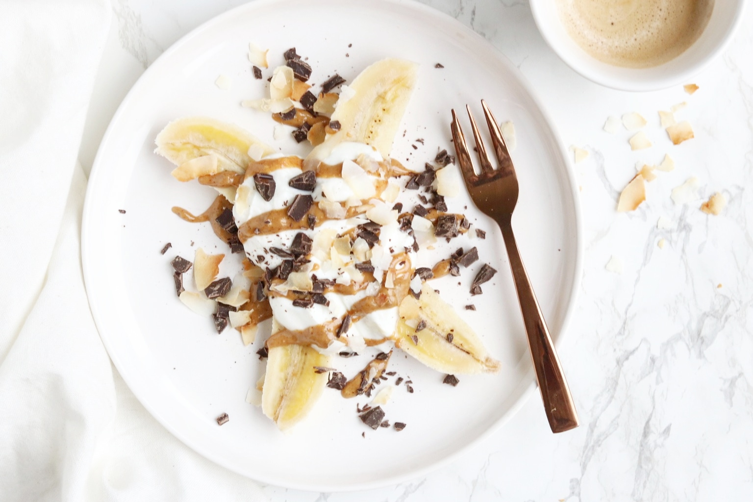 EASY 5: CHUNKY MONKEY BANANEN SPLIT