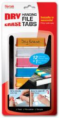Dry Erase Hanging File Tabs