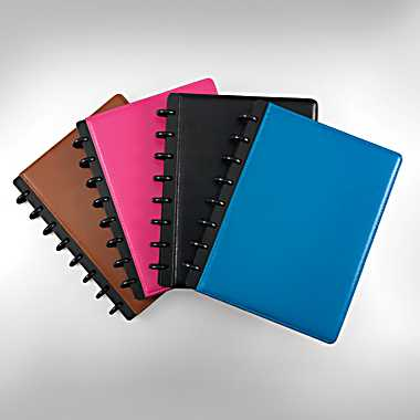 Arc leather notebooks