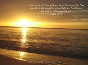 Sunrise Isaiah 41:20