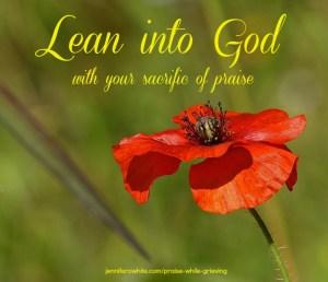 praise God while you grieve