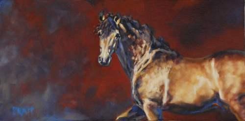 Sulitaak's Versage, 8x16 Oil on Canvas Panel