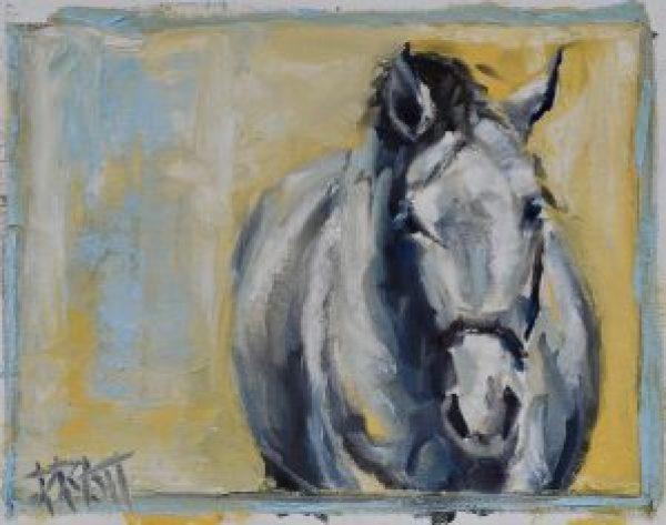 Sporthorse, equine art, Jennifer Pratt