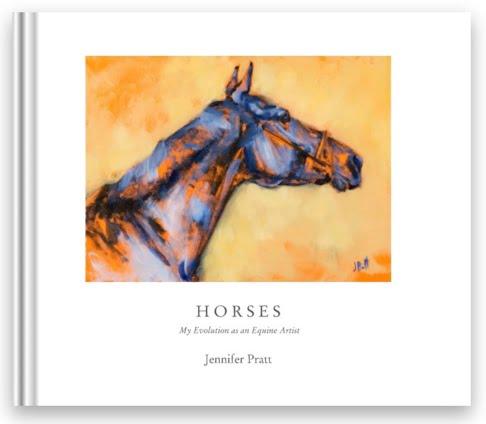 Horses, equine art by Jennifer Pratt