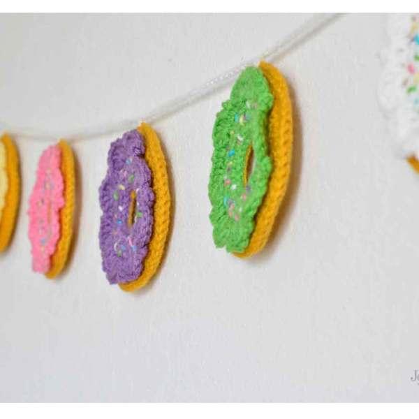 Funfetti Crochet Donuts