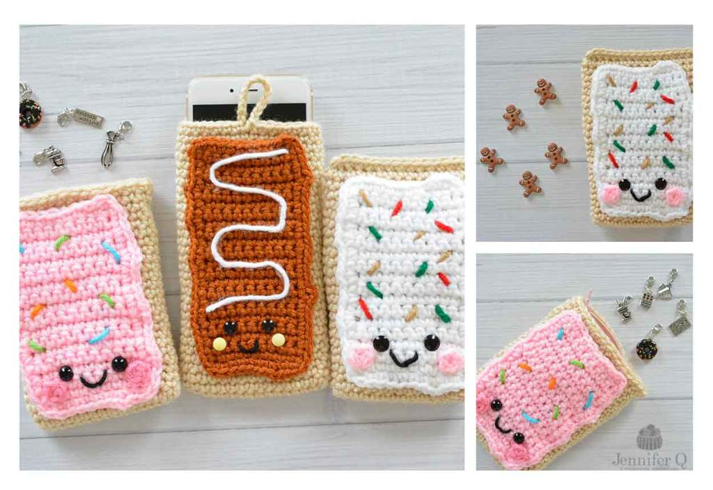 Crochet Pop Tarts