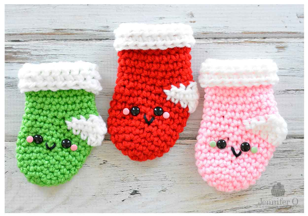Amigurumi Christmas : Amigurumi christmas stockings jennifer q a handmade adventure