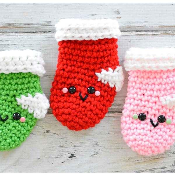 Amigurumi Christmas Stockings