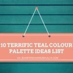 10 Terrific Teal Colour Palette Ideas List