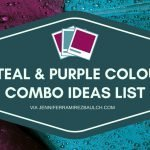 5 Teal and Purple Colour Combination Ideas List