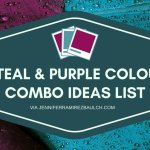 5 Teal and Purple Colour Combination Ideas List