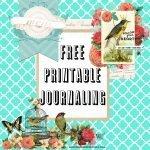Journaling Free Printable