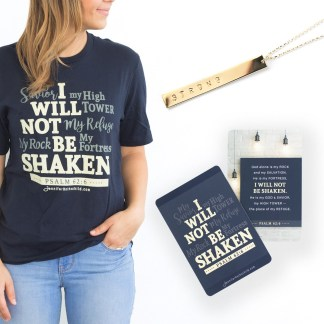 Necklace and T-Shirt Bundle