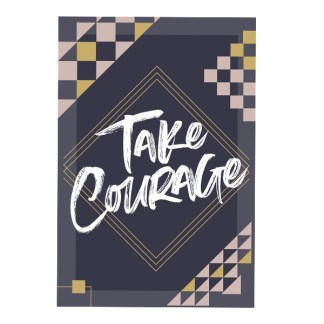 Take Courage Declaration Card