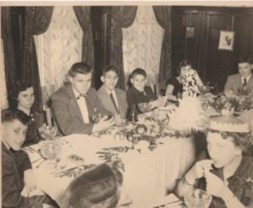 Bar mitzvah kids 1953