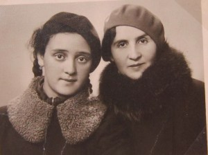 My great-grandfather's younger sister and her daughter, who were both killed in Varaklani