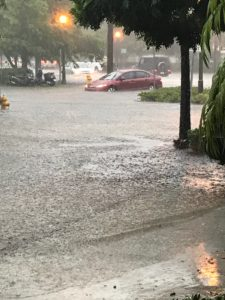 Two weeks ago, a simple rain storm flooded the streets of Miami Beach.
