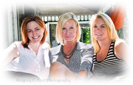 Lisa Williams, Lily Dale and Michelle Rossi