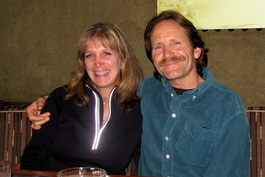 Jennifer Sienes - with her husband