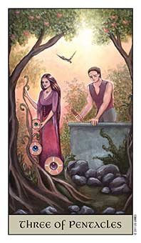 3 of Pentacles Crystal Visions
