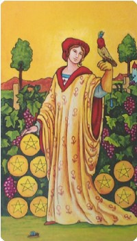 9 of Pentacles | Jennifer Soldner