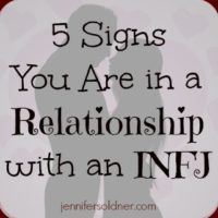 5 Signs You Are in a Relationship with an INFJ